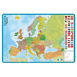Educational Poster Mapa De Europa