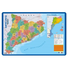 Educational Poster Catalan/Mapa Cataluña