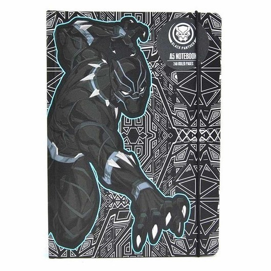 CUADERNO A5 MARVEL BLACK PANTHER