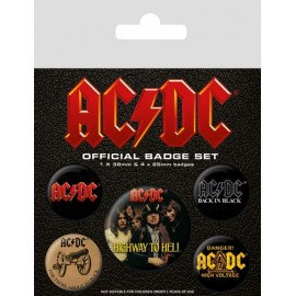 Feuille paquets Ac/Dc