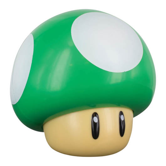 LAMPARA SUPER MARIO 1 UP MUSHROOM