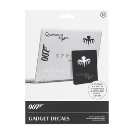 PEGATINAS GADGET JAMES BOND