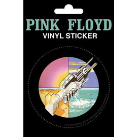 STICKER VINILO PINK FLOYD WISH YOU WERE HERE