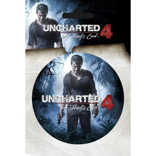 STICKER VINILO UNCHARTED 4 A THIEFïS END