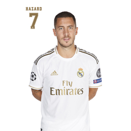 POSTAL A4 REAL MADRID 2019/2020 HAZARD