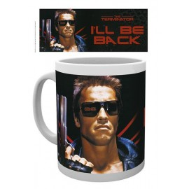 TAZA MUG THE TERMINATOR I'LL BE BACK WITH I