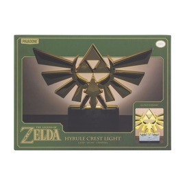 LAMPARA THE LEGEND OF ZELDA HYRULE ESCUDO