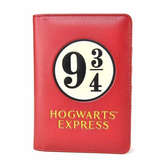 FUNDA PASAPORTE HARRY POTTER PLATFORM 9 3 4