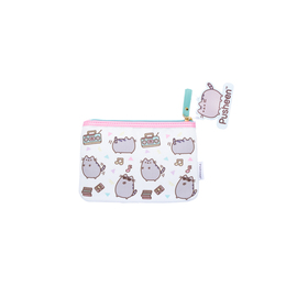 ESTUCHE PLANO POLIESTER PUSHEEN THE CAT