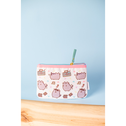 ESTUCHE PLANO POLICANVAS PUSHEEN THE CAT