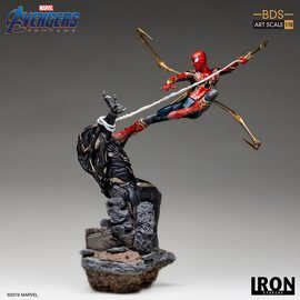 FIGURA BDS ART SCALE 1/10 MARVEL IRON SPIDER VS OUTRIDER