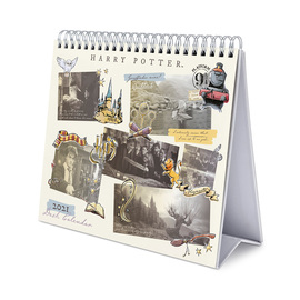 CALENDARIO DE ESCRITORIO DELUXE 2021 HARRY POTTER