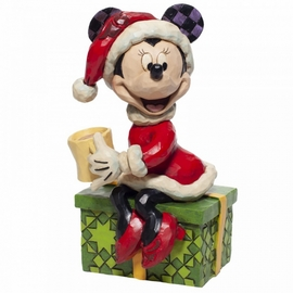 FIGURA DISNEY MINNIE MOUSE WITH HOT CHOCOLATE