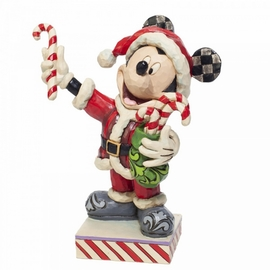FIGURA DISNEY MICKEY MOUSE WITH CANDY CANES