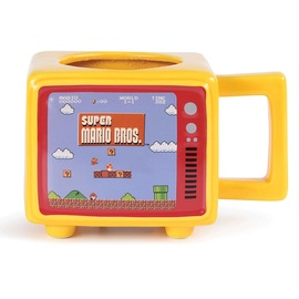 TAZA TERMICA RETRO SUPER MARIO BROS LIKE A BOSS