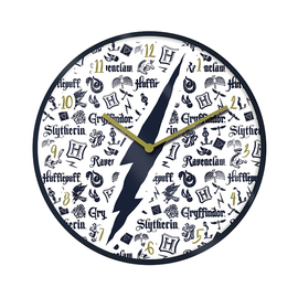 RELOJ 25 CM HARRY POTTER INFOGRAFÍA