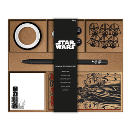 SET PAPELERIA PREMIUM STAR WARS VERSION JAPONESA