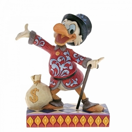 FIGURA DISNEY SCROOGE WITH MONEY BAG