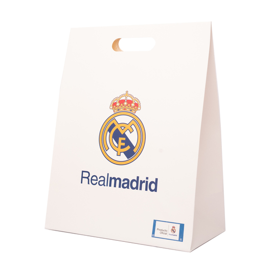 BOLSA REGALO MEDIANA REAL MADRID BLANCA