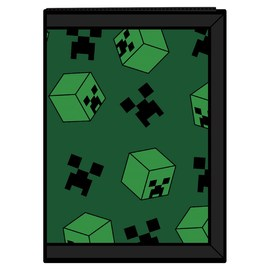CARTERA MINECRAFT CREEPER SWEEPER TRI-FOLD