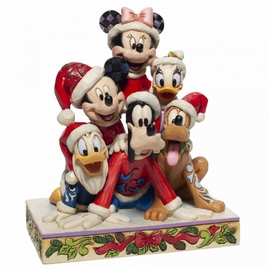 FIGURA DISNEY CHRISTMAS MICKEY AND FRIEND