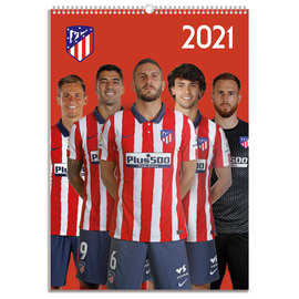 CALENDARIO 2021 A3 ATLETICO DE MADRID GRUPO