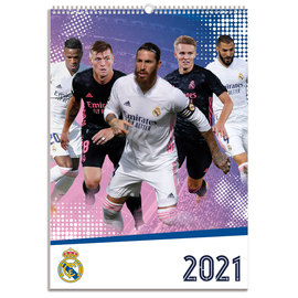 CALENDARIO 2021 A3 REAL MADRID GRUPO