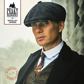 CALENDARIO 2021 30X30 PEAKY BLINDERS