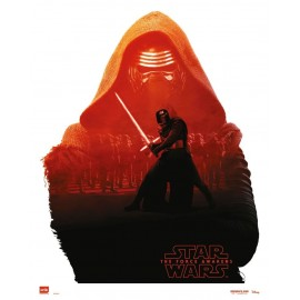 MINI POSTER STAR WARS KYLO REN