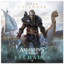 CALENDARIO 2021 30X30 ASSASSINS CREED