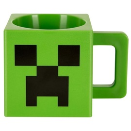 TAZA PLASTICA MINECRAFT CHARGED CREEPER