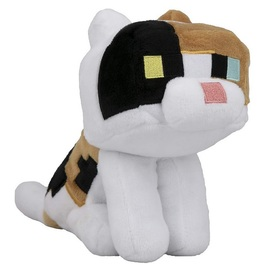 PELUCHE MINECRAFT HAPPY EXPLORER CALICO CAT