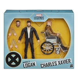 SET DE FIGURAS MARVEL LEGENDS LOGAN & CHARLES XAVIER