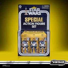 SET DE FIGURAS STAR WARS THE CLONE WARS LEGION ARC TROOPERS