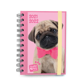 AGENDA ESCOLAR 2021/2022 DIA PAGINA FR STUDIO PET DOG