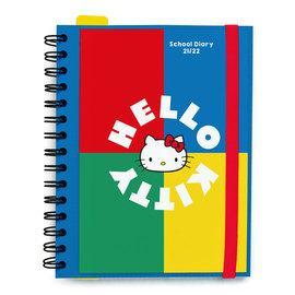 AGENDA ESCOLAR 2021/2022 SEMANA VISTA HELLO KITTY