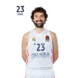 POSTAL REAL MADRID BALONCESTO 2020/2021 LLULL