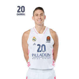 POSTAL REAL MADRID BALONCESTO 2020/2021 CARROLL