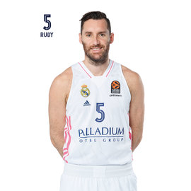 POSTAL REAL MADRID BALONCESTO 2020/2021 RUDY