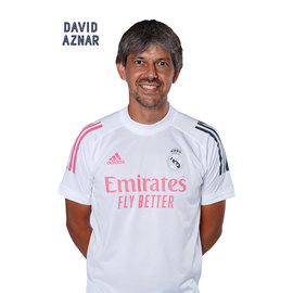 POSTAL REAL MADRID FEMENINO 2020/2021 DAVID AZNAR