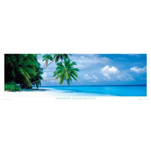 Poster Puerta Maldives - Fihalhohi Islands