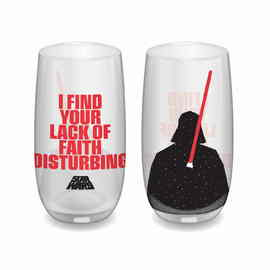 VASO STAR WARS I FIND YOUR LACK OF FAITH DISTURBING DE CRISTAL