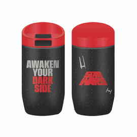 TAZA DE VIAJE METALICA STAR WARS AWAKEN YOUR DARK SIDE