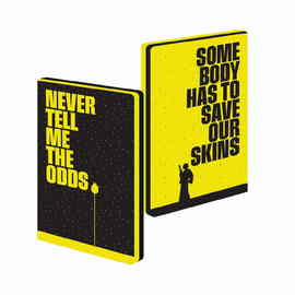 CUADERNO A5 STAR WARS NEVER TELL ME THE ODDS