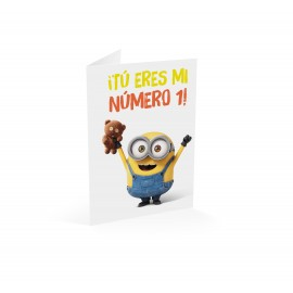 Greeting card Minons