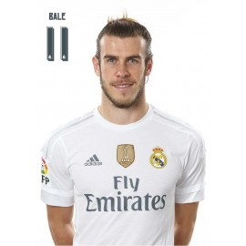 Postal Real Madrid - Bale