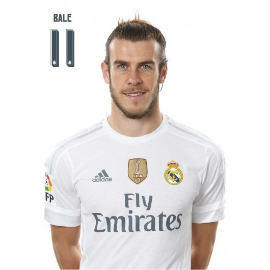 POSTAL REAL MADRID BALE - CENTROCAMPISTA (BUSTO)