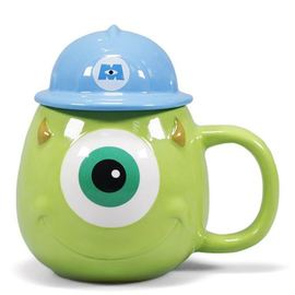 TAZA 3D DISNEY MONSTER INC MIKE RELIEVE