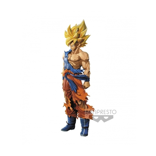 FIGURA DRAGON BALL Z SON GOKU DIMENSIONES MANGA SUPER MASTER STARS PIECE