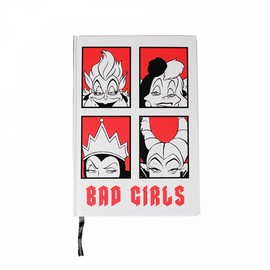 CUADERNO A5 DISNEY BAD GIRLS